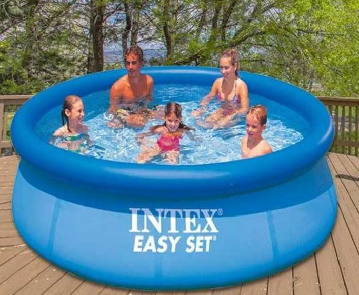 Intex Easy Set Outdoor Swimming Pool - 10 Ft in Stock (Price Shown Inc Delivery)