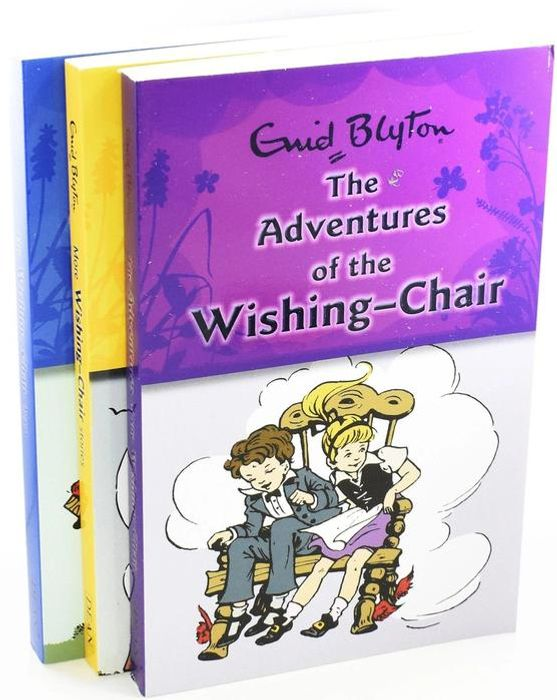 Cheap The Wishing Chair 3 Book Collection - by Enid Blyton Only £6.99!
