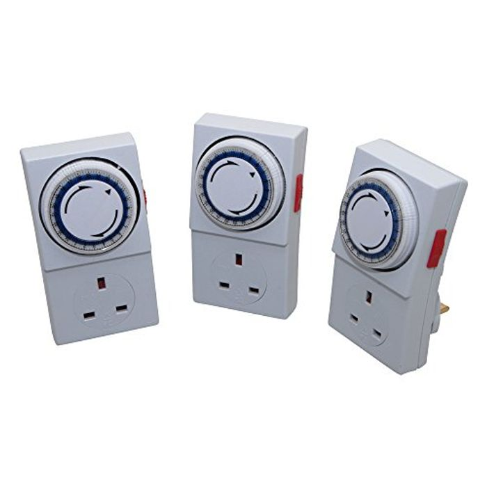 SMJ Electrical 24H Plug in Timer