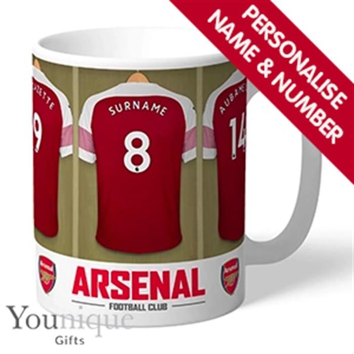 Personalised Arsenal FC Mug