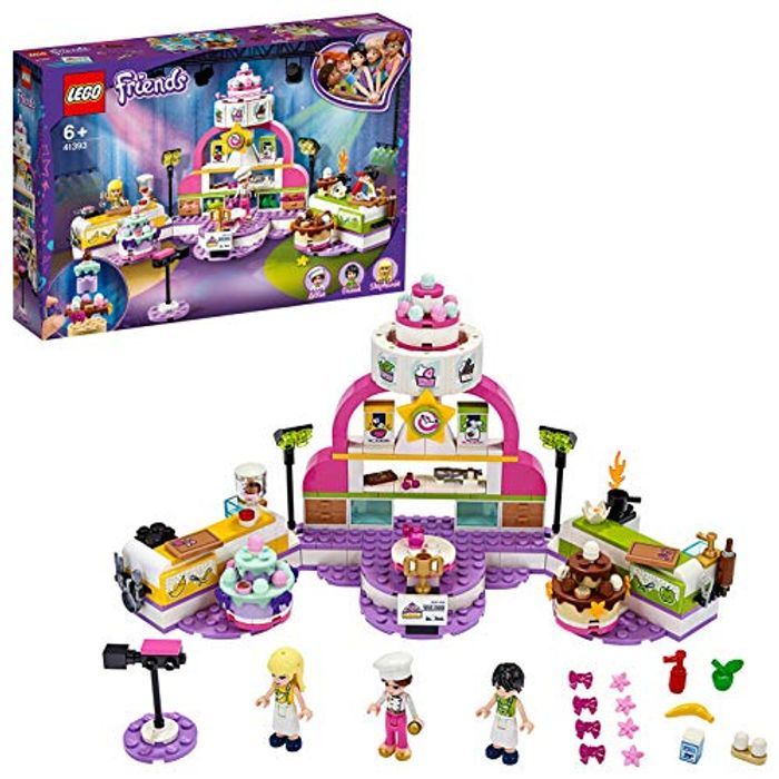 LEGO 41393 Friends Baking Competition Playset
