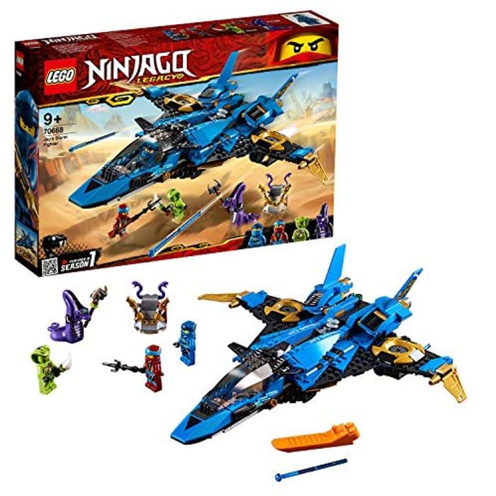 LEGO 70668 Ninjago Legacy Jays Storm Fighter Building Kit