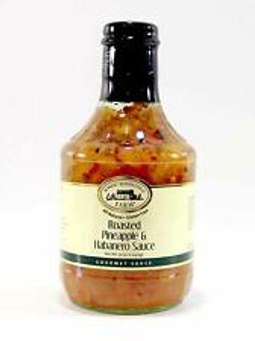 Robert Rothschild Farm Roasted Pineapple & Habanero Glaze Sauce 40oz BIG Bottle