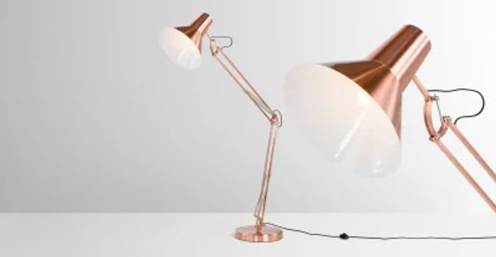 Bronx Giant Floor Lamp on Sale From £159 to £65