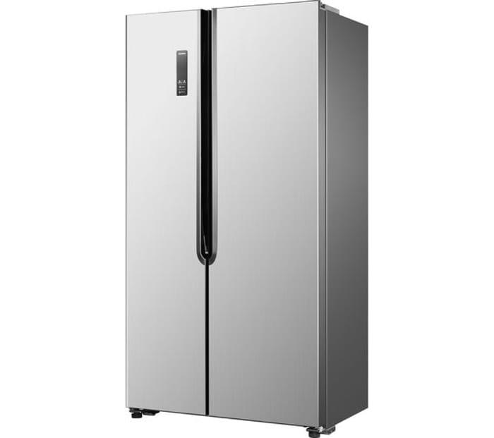 LOGIK American-Style Fridge Freezer - Silver £389.99 with Code