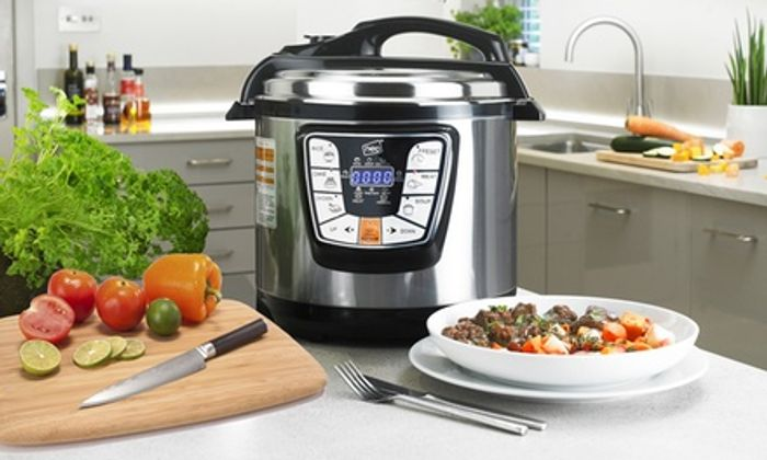 Neo 6L Electric Pressure Multi-Cooker and Slow Pot