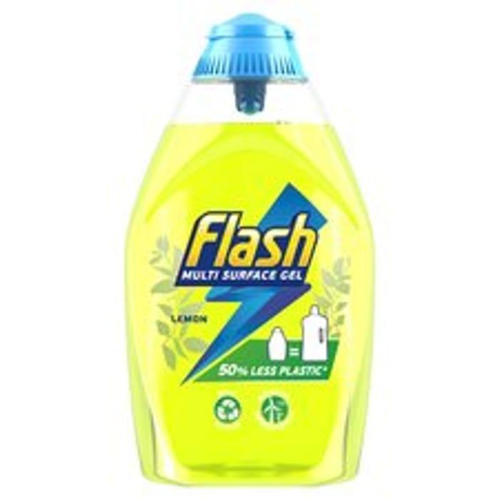 Flash Multisurface Gel Lemon 600Ml
