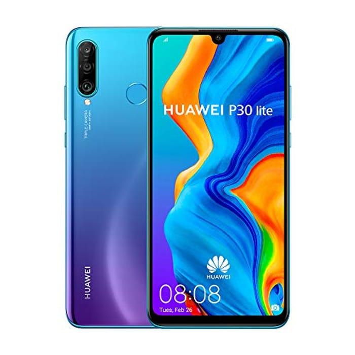 Huawei P30 Lite 128 GB 6.15 Inch FHD Dewdrop Display Smartphone