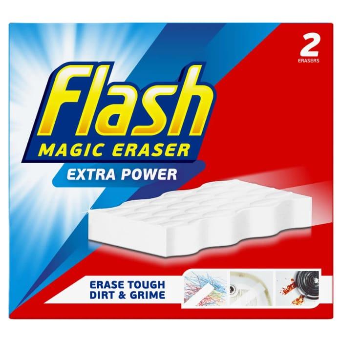Flash Extra Power Magic Eraser 2 Pack