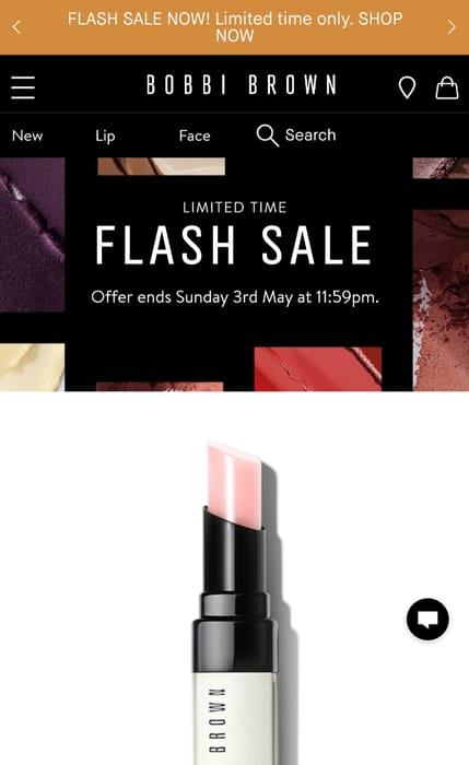Bobbi Brown Make up Flash Sale & Free Delivery