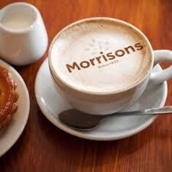 Free Takeaway Hot Drink for NHS Workers Morrison Stores with a Barista Bar 6-7am