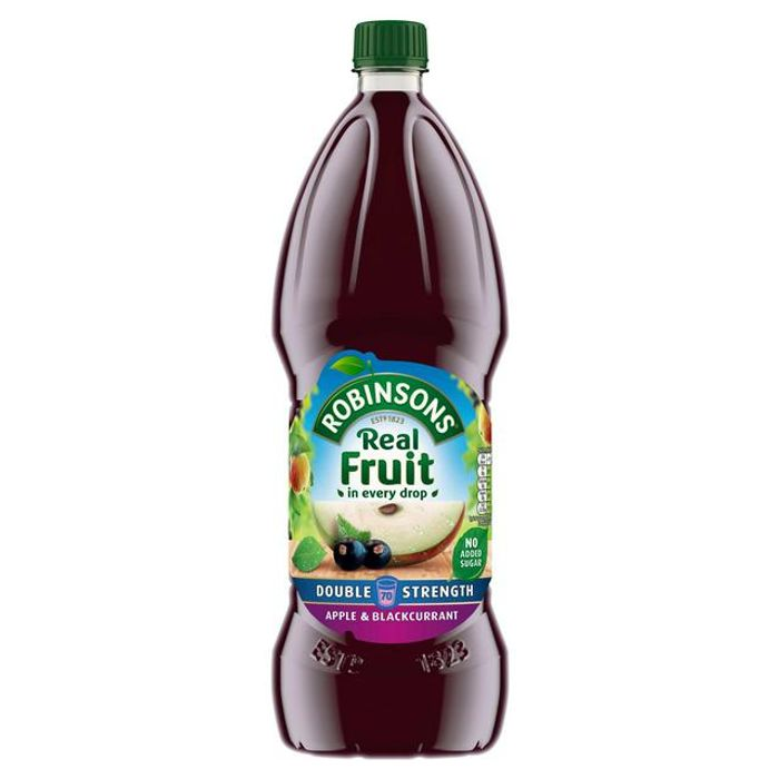 Robinsons Double Concentrate Apple & Blackcurrant Squash No Added Sugar