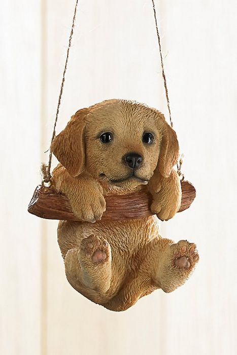 Rocking Pet Pals Hanging Ornament Golden Retreiver