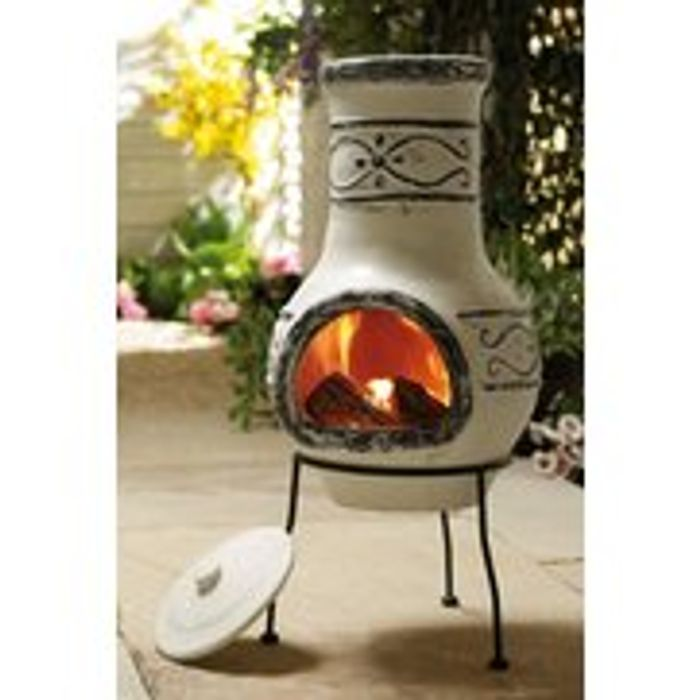 Ador Grey Chiminea Only £29.99