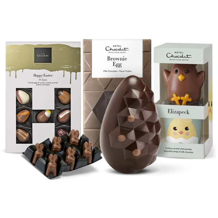 Hotel Chocolate -the Smooth & Mellow Easter Collection