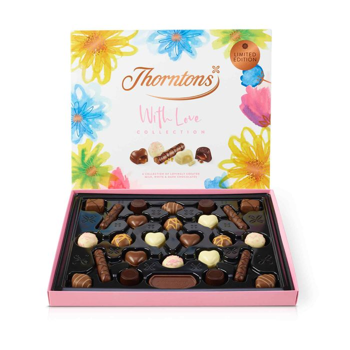 Cheap Thorntons -- With Love Collection- 3 for £15. Only £8 each.