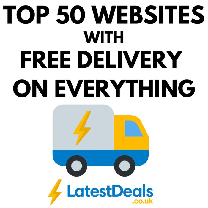 FREE DELIVERY WEBSITES! 50 Websites with FREE UK DELIVERY 2020