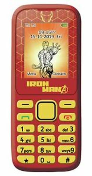 SIM Free Lexibook Avengers Iron Man 1.77 Inch 2G Dual Sim Mobile Phone - Red