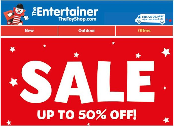 CHEAP! Entertainer TOY SALE!