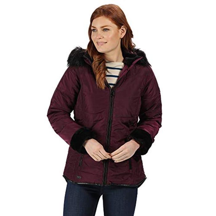 Regatta Faux Fur Hooded Winter Jacket- Only Size 10