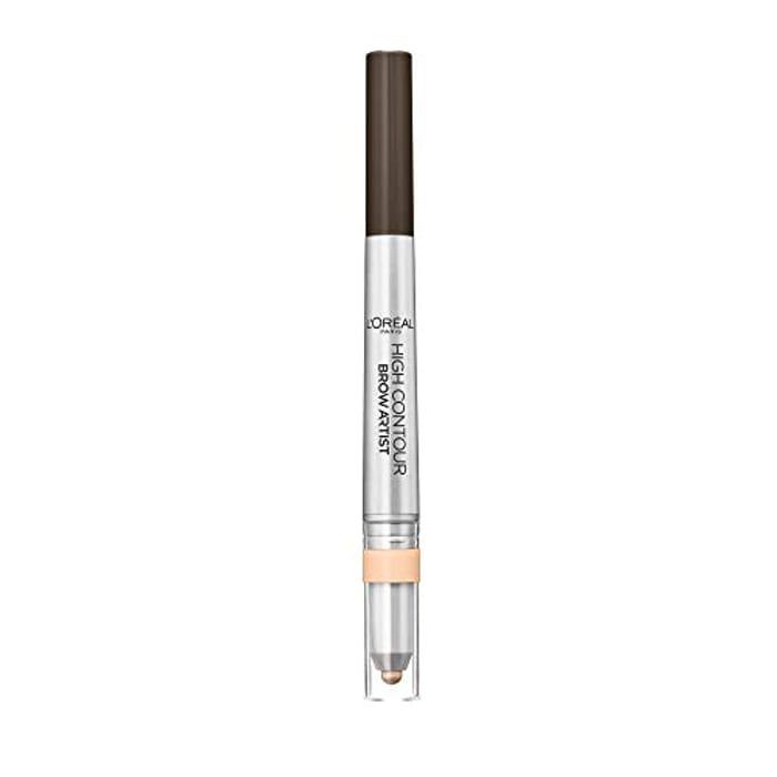 L'Oreal Paris High Contour Brow Pencil & Highlighter Duo 109 Ebony