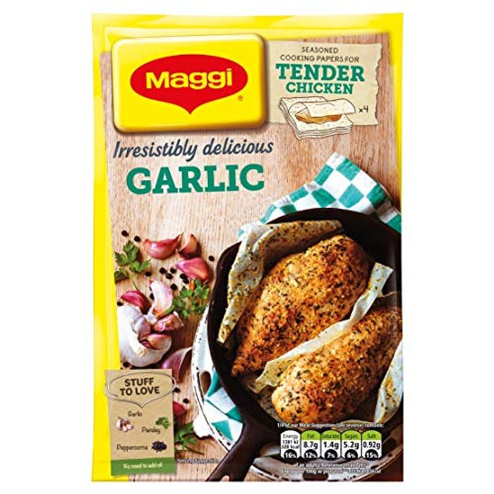 MAGGI so Tender Garlic, 23 G (Pack of 18)