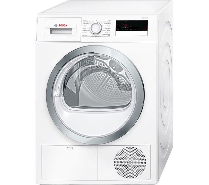 BOSCH Serie 4 Condenser Tumble Dryer 8kg - EXTRA 10% off with CODE