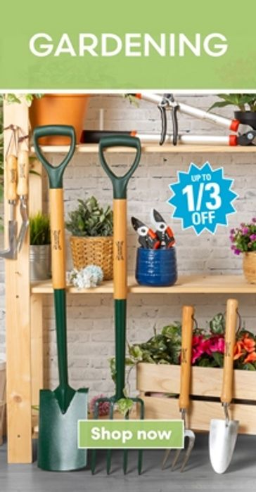 Up to 50% off Mega Deals on Home, DIY, Electricals, Outdoor & More