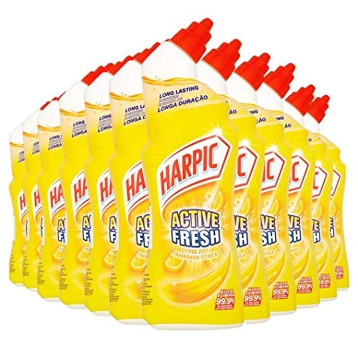 Best Price! Harpic Active Fresh Toilet Cleaning Gel 750ml-Citrus Zest Pack of 12