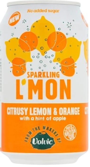 Free Volvic L'MON Sparkling Lemon & Orange 330ml at Co op via COS