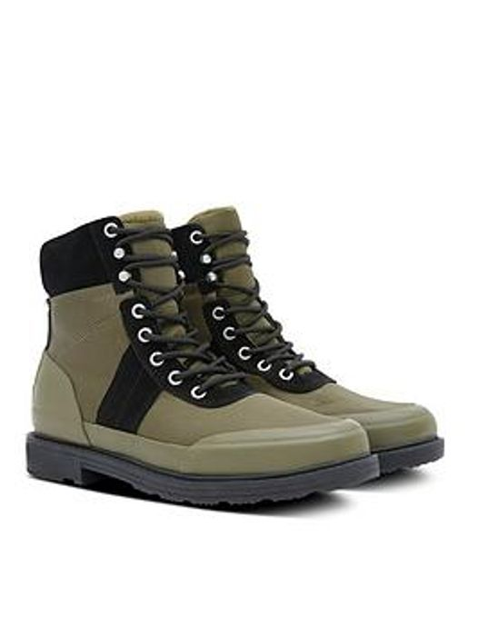 Hunter Original Insulated Commando Boots - Black/Multi - Sizes 3 & 4 Remaining