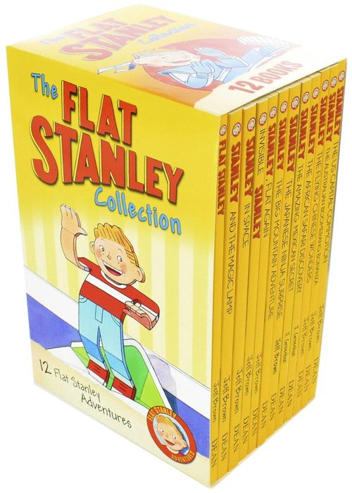 Cheap The Flat Stanley Collection - 12 Books by Jeff Brown at Books2door
