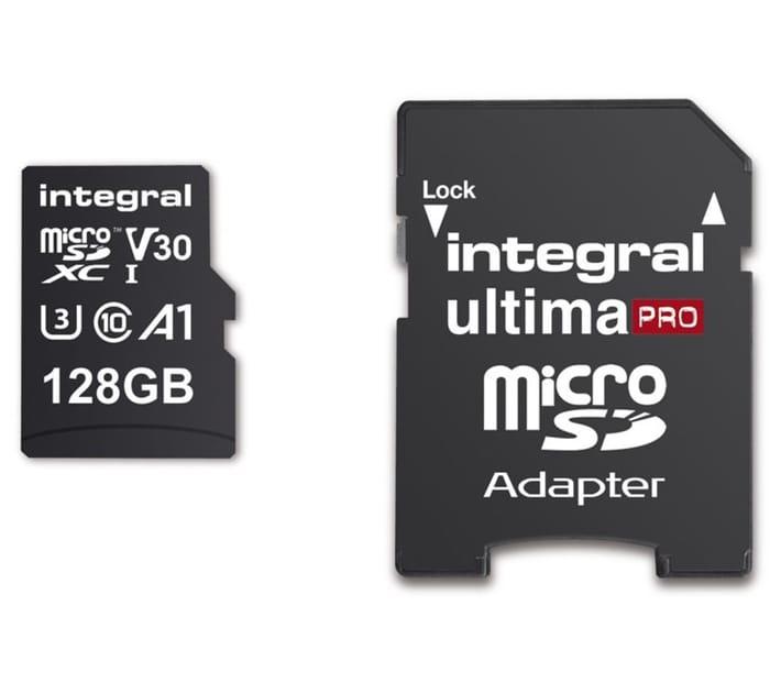 INTEGRALV30 Class 10 microSD Memory Card - 128 GB