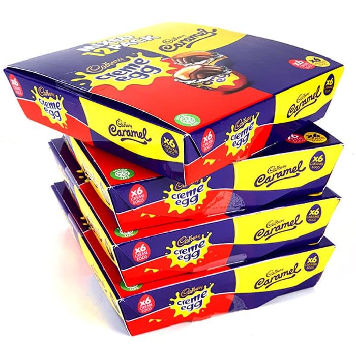 48 X Mixed Pack Cadbury Creme & Caramel Eggs