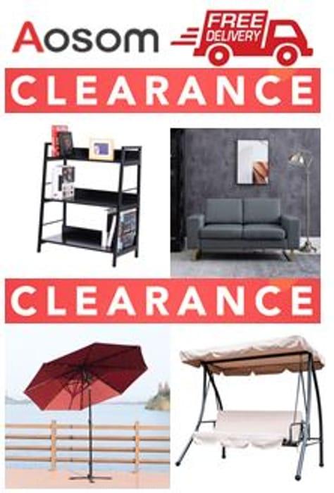AOSOM CLEARANCE SALE- Home & Garden Furniture, Parasols, Garden Heating, BBQs