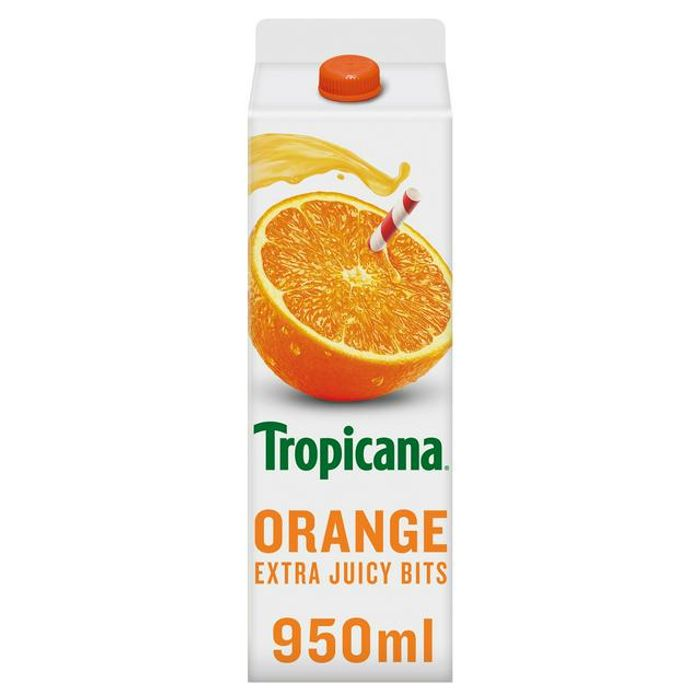 Tropicana Orange Juice with Extra Juicy Bits 40%off at Sainsbury's