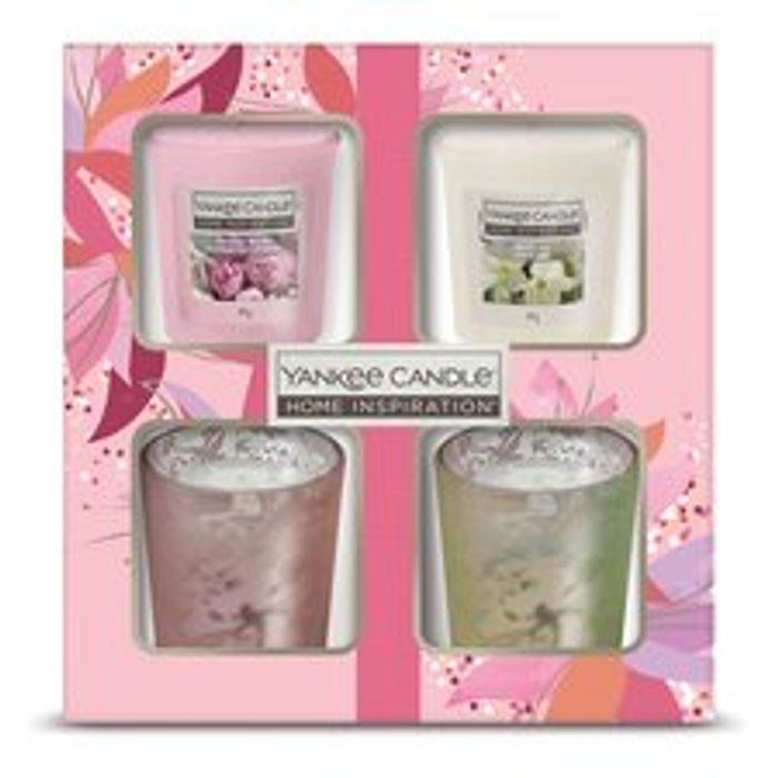 Yankee Candle Excellence 2 Votive & 2 Holder Giftset