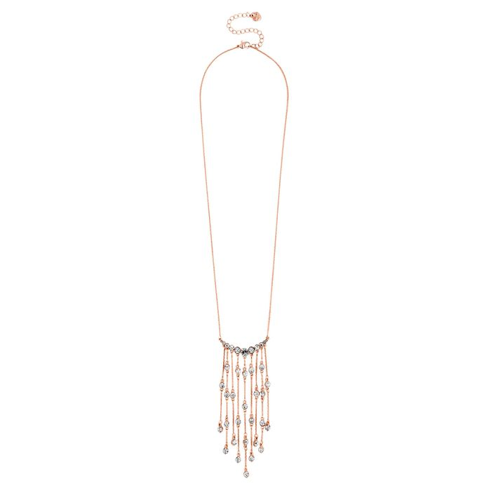 Cheap Lipsy - Crystal Fringe Long Necklace - Only £6!