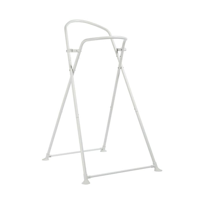 Shnuggle Metal Folding Bath Stand-White (New)