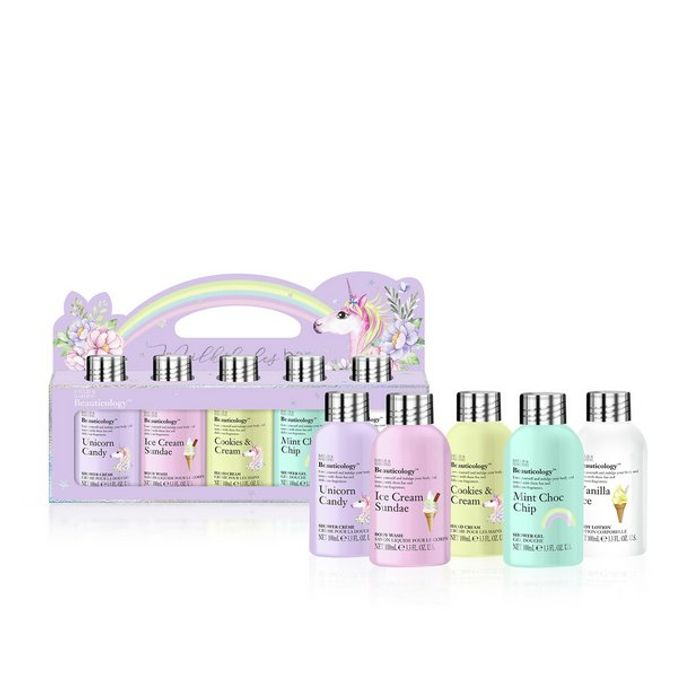 Cheap Baylis & Harding Beauticology 5 Pack Unicorn Bottle Set Only £8
