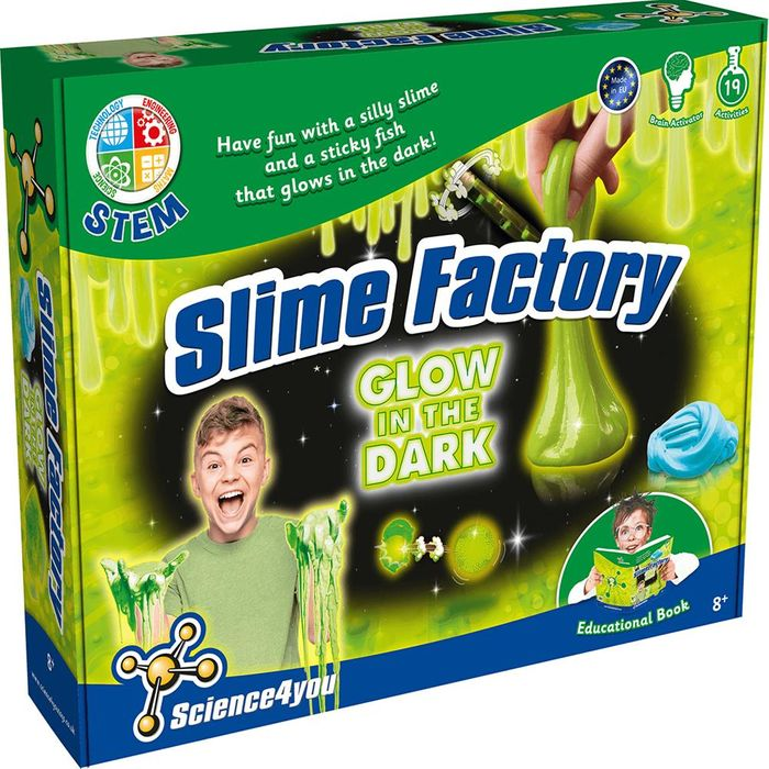 Science4You Slime Factory (Glow in the Dark)