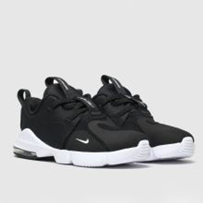Black & White Air Max Infinity Trainers Toddler