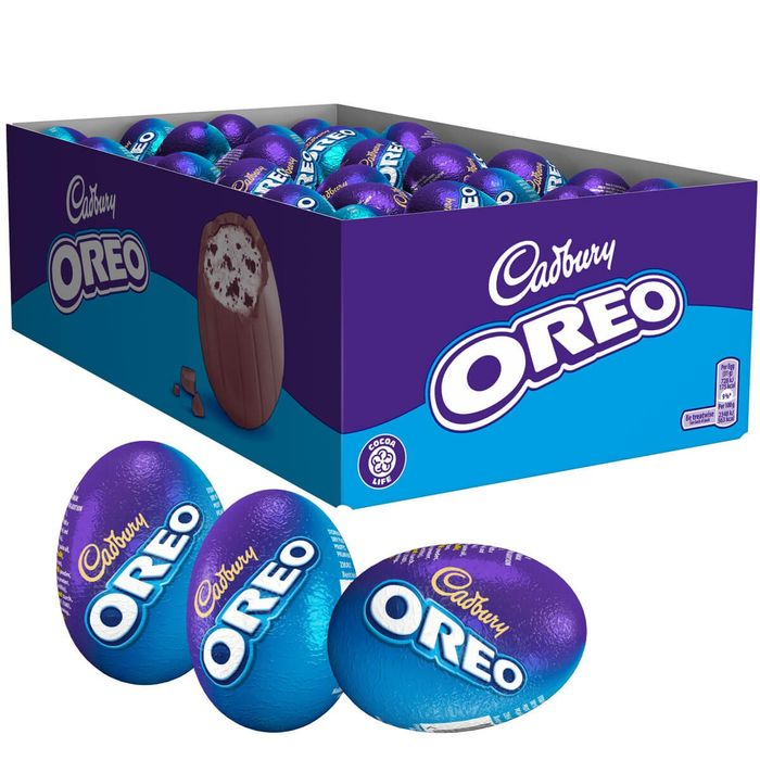 Cadbury Oreo Egg 31g (Box of 48)