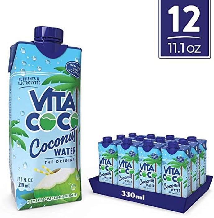 Vita Coco Pure Coconut Water (330ml x 12)