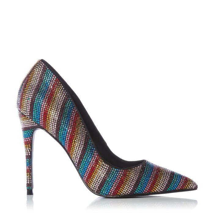 Steve Madden - 'Daisie Rainbow Shoes ( Size 4 )