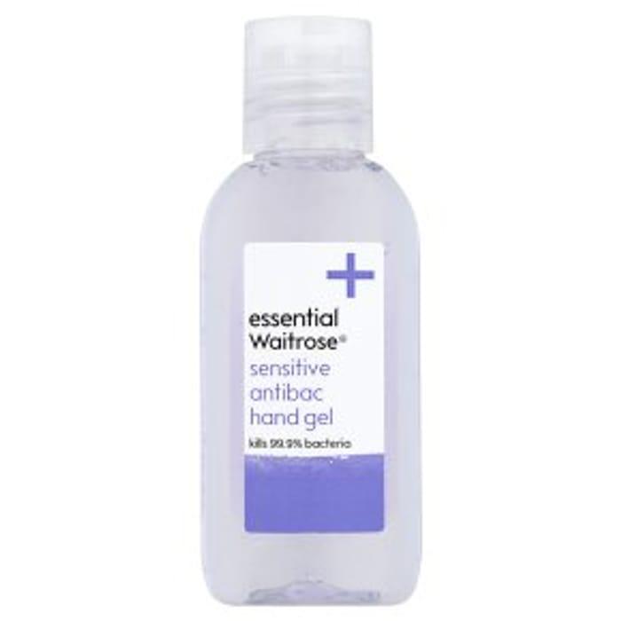 Essential Waitrose Sensitive Hand Gel 50ml
