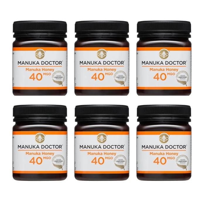 *SAVE £140* 40 MGO Manuka Honey 250g - 6 Pack