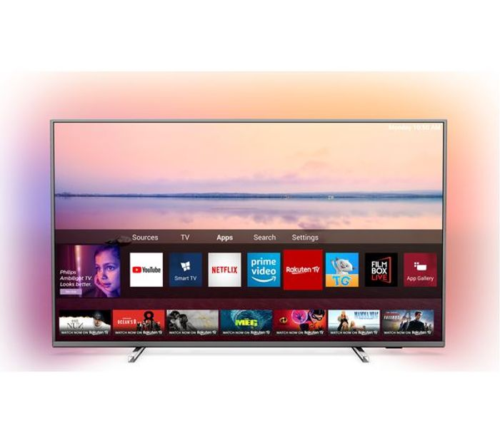 """*SAVE over £199* PHILIPS Ambilight 65"""" Smart 4K Ultra HD HDR LED TV"""