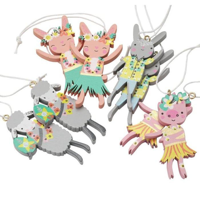 Mini Characters Tree Decorations - Half Price