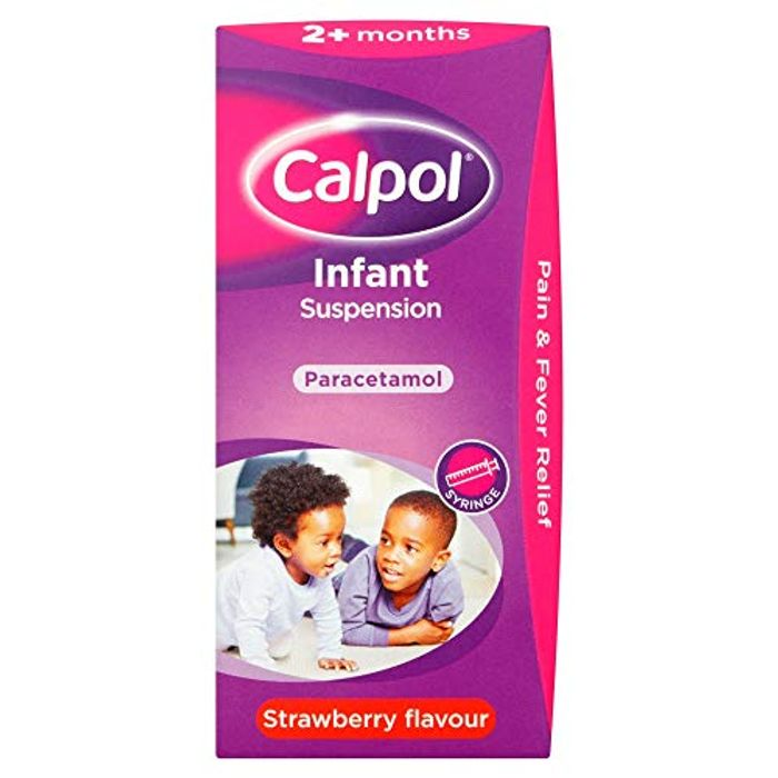 Calpol Infant Suspension, Paracetamol Medication